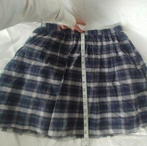8951ca4045 Jack Skirts | Super Cute Blue Plaid Short Skirt | Poshmark